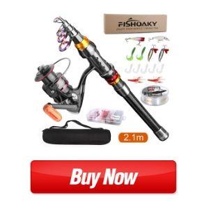 FISHOAKY Fishing Rod kit