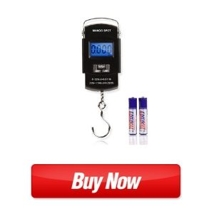 MANGO SPOT LCD Electronic Balance Digital Fishing Hook Hanging Scale